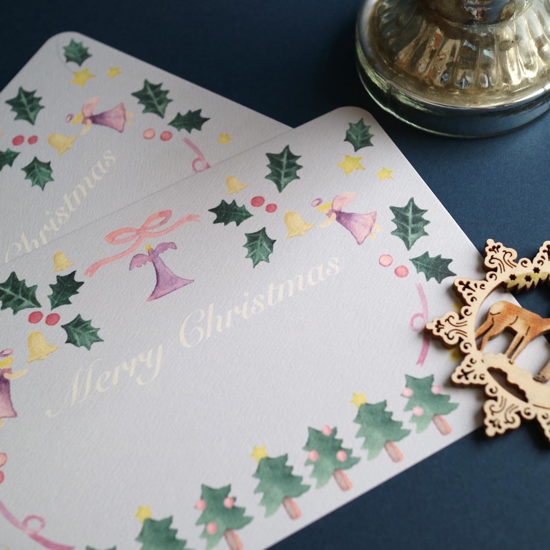 クリスマスカードプレゼントと5%OFFクーポン