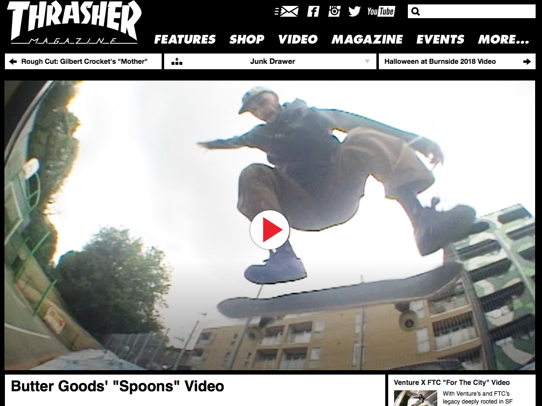 "Spoons Video by ""Butter Goods"""