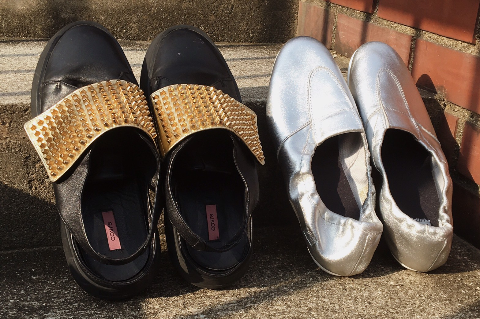 【USED】ゴールド派?シルバー派?今すぐほしい靴はどっち