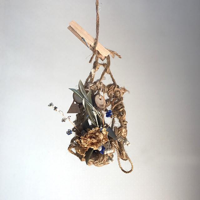 【1点物のHandcraft Hanging】香るWall hanging!2作品販売開始ですー