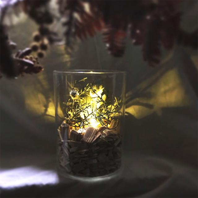 年末の忙さでお疲れのこの時期。やわらかな灯りと天然の香りでお部屋を癒し空間に!!