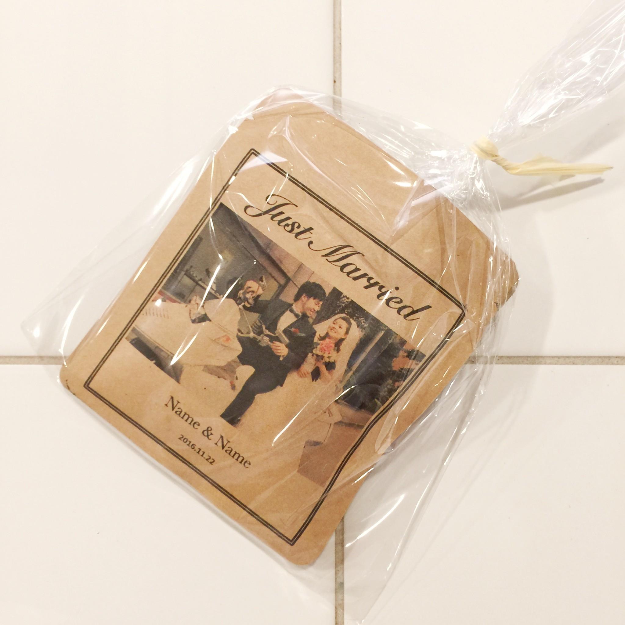結婚式のプチギフトにオリジナルドリップバッグお作りします