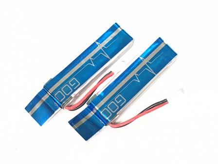 ★基板付き改良高級版お試し特価★K110&V977 リポバッテリー 3.7V520mAh30C