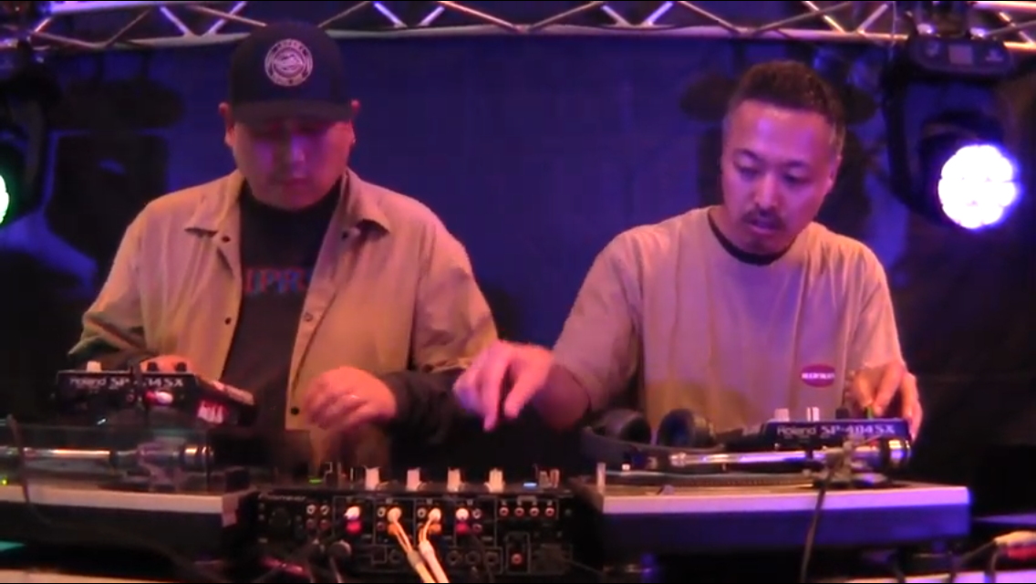 Budamunk&Yotaro beat session in Nara Apr. 29, 2019