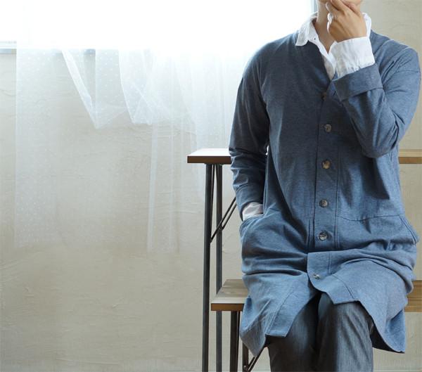 地球にも優しく、着る人にも優しく、プラネードのロングカーデ・ワンピ。