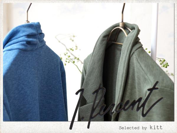 カーデガン感覚で羽織るテーラードジャケット