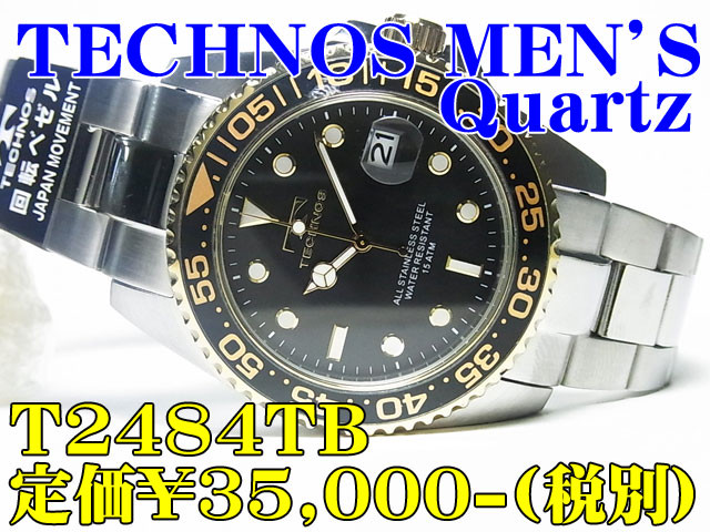 TECHNOS(テクノス) MEN'S T2484TB 定価¥35,000-(税別)