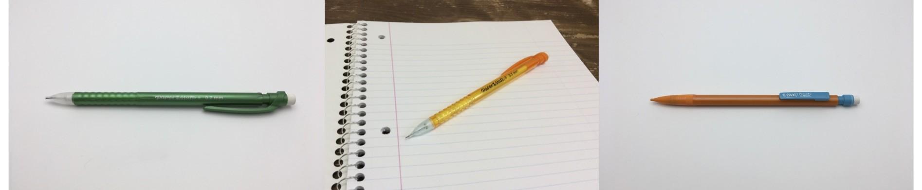 チープでカラフルで最高にイカしたin my Deskのシャープペン!2本以上が超お得になりました!