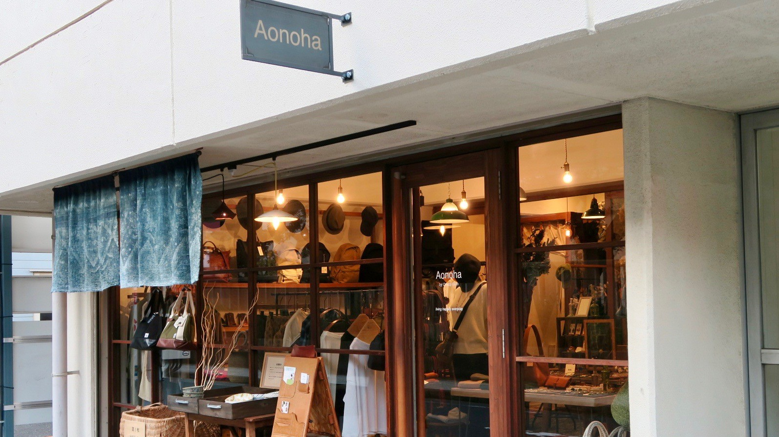 Lifestyle & Gift Items.『Aonoha』実店舗 info.