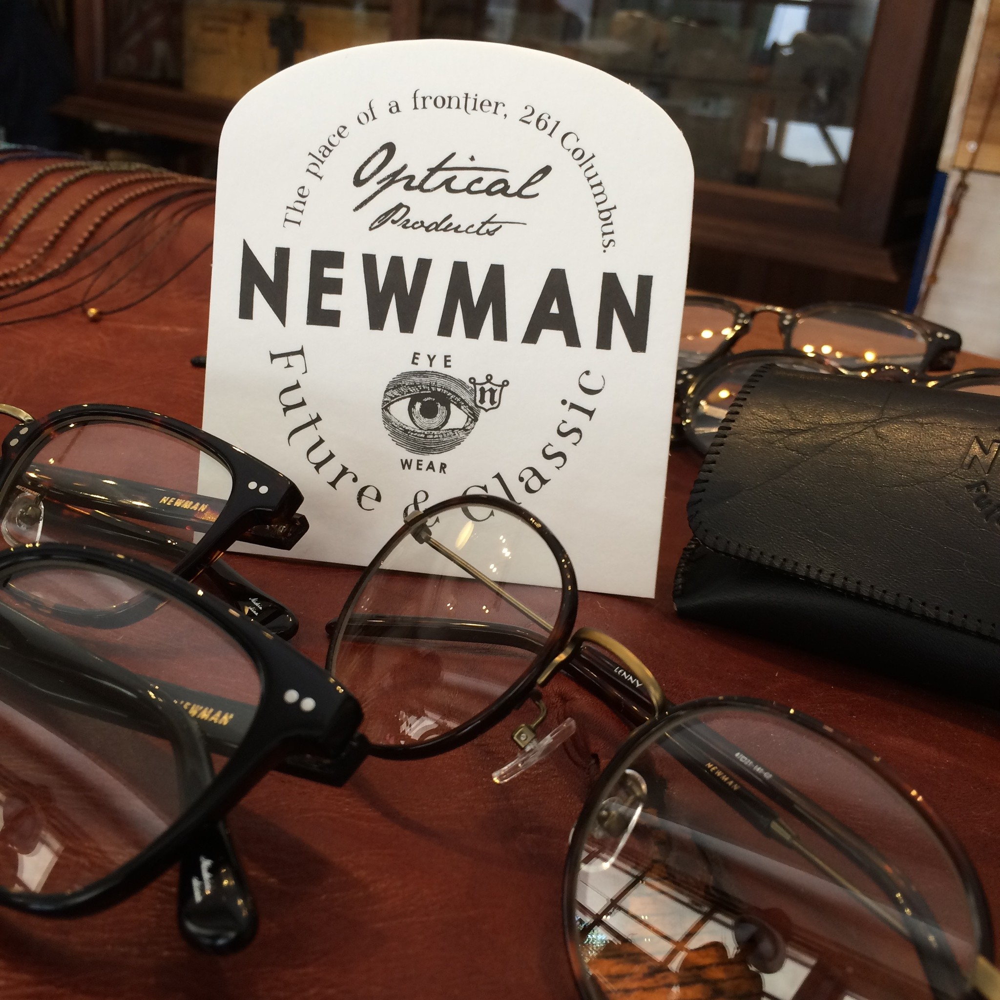 NEWMAN(ニューマン) Glasses Collection
