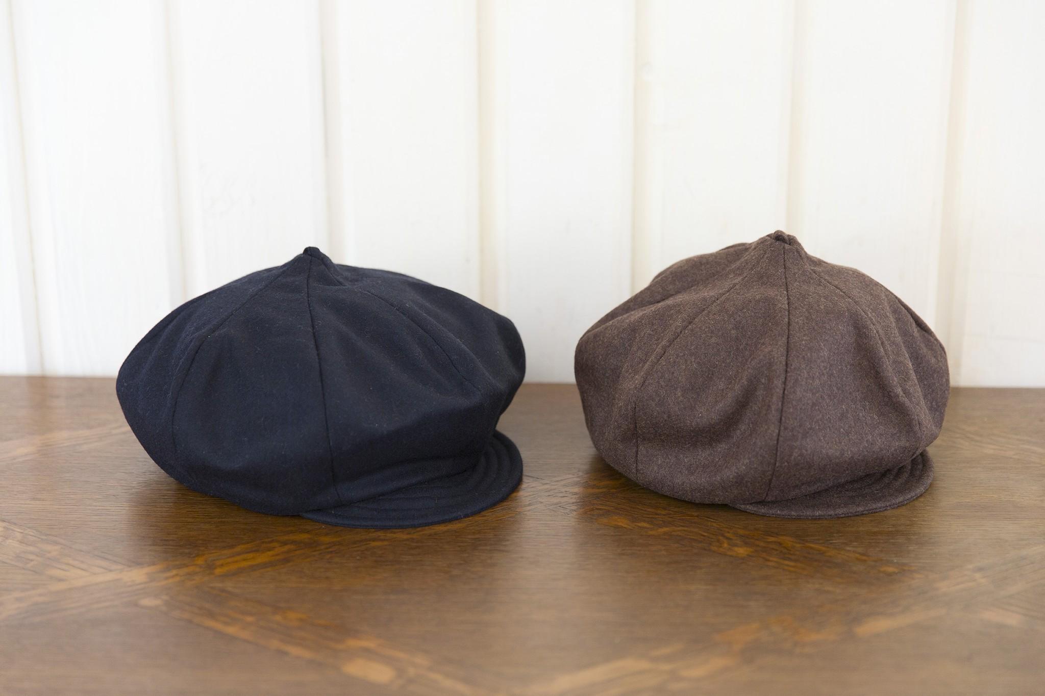 1つで3度おいしい…!キャスケットベレー帽
