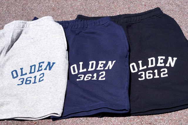 NEW ARRIVAL : COLLEGE SWEAT SHORT