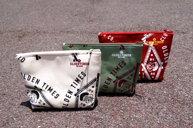 NEW ARRIVAL : TRADE MARK PATTERN POUCH