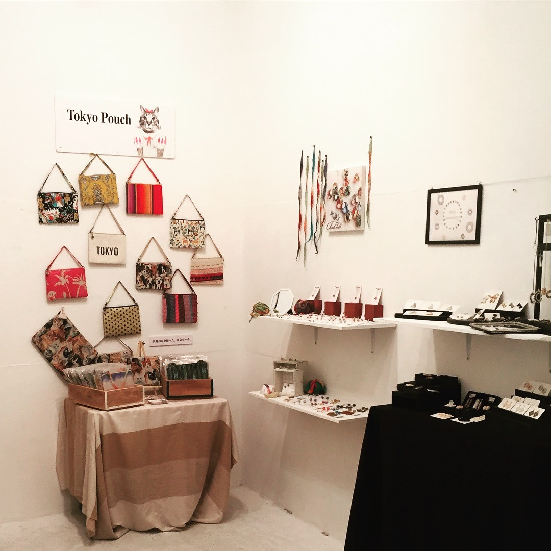 Tokyo Pouch 展示販売6/25-30 @ あくつも 渋谷