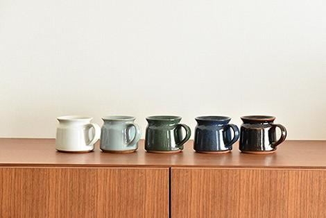 新商品入荷のお知らせ。インドのマグカップ