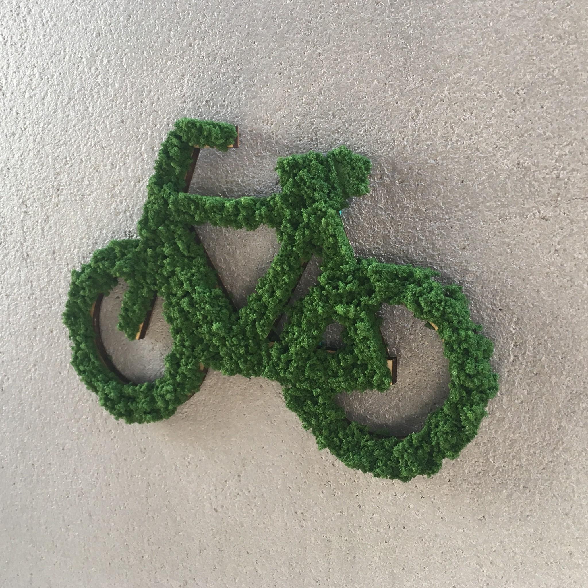 自転車サイン