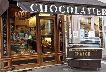 元バッキンガム宮殿のアイスクリーム職人、パリのビーントゥーバーショコラティエ「シャポン」
