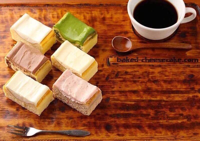 6種類のベイクドチーズケーキ