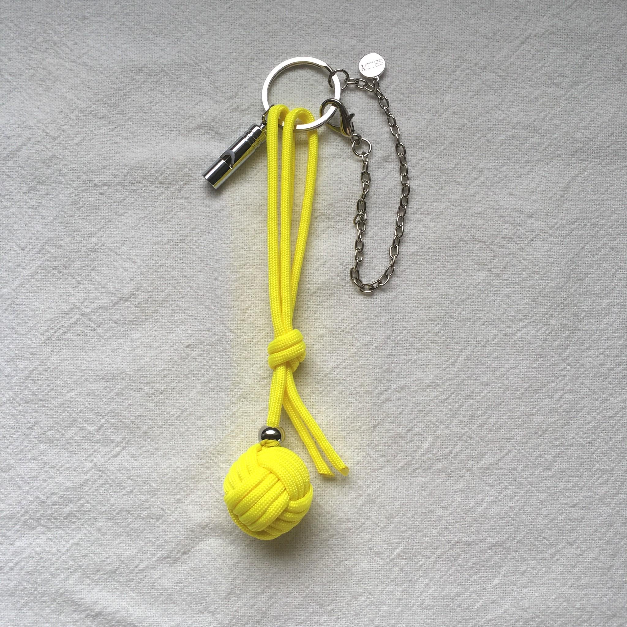 プロテクトチャーム 伸縮部分の結び方