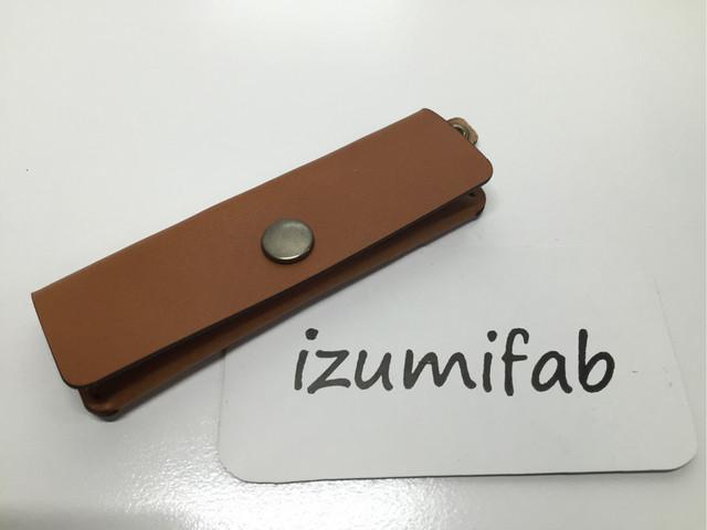 izumifabのひと目で残高が見えて、更に!取り出し易く、更に更に!コンパクトなコインケース!