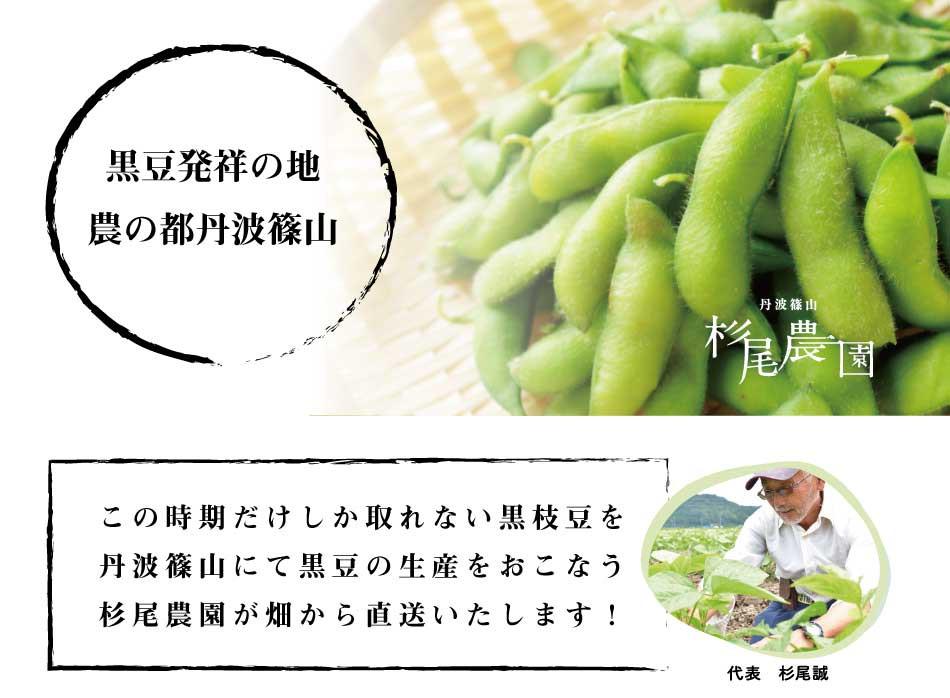 一年に10月の一ヶ月だけ!!ちちんぷいぷい出演!杉尾農園の黒枝豆