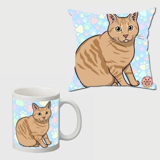 オーダーメイド愛猫グッズ販売開始