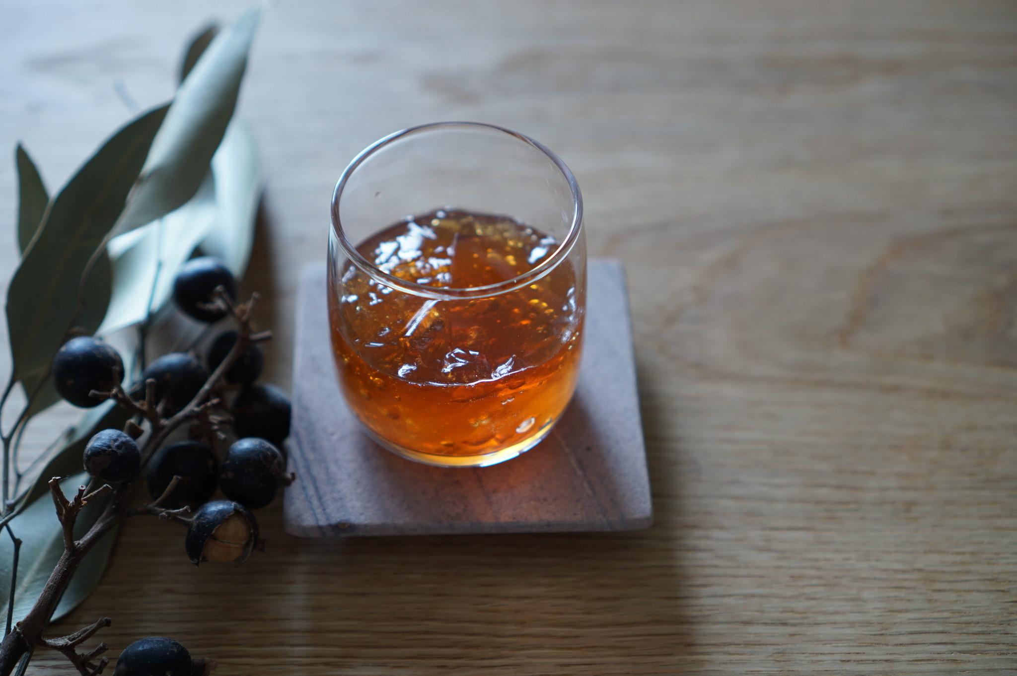 【レシピ】甘い香りとさっぱりした味わい「レッドウーロンゼリー」の作り方