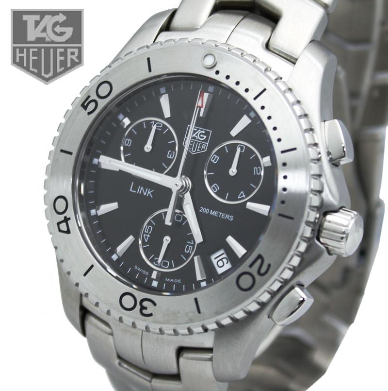 【27%オフ 腕時計】TAG Heuer(タグホイヤー)  Link クロノグラフ CJ1110.B