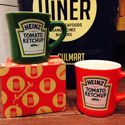 【再入荷!】ケチャップで有名なHeinzのマグカップが再入荷致しました!