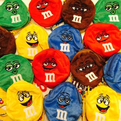 M&M'sコインケース♪