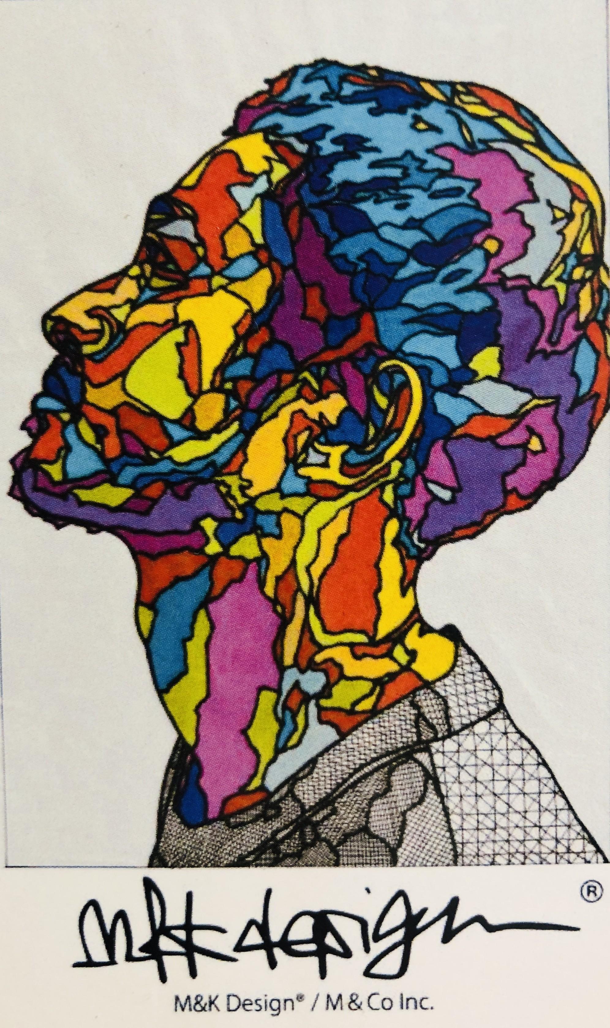 天才的に鋭い色彩感覚 圧倒される人物画