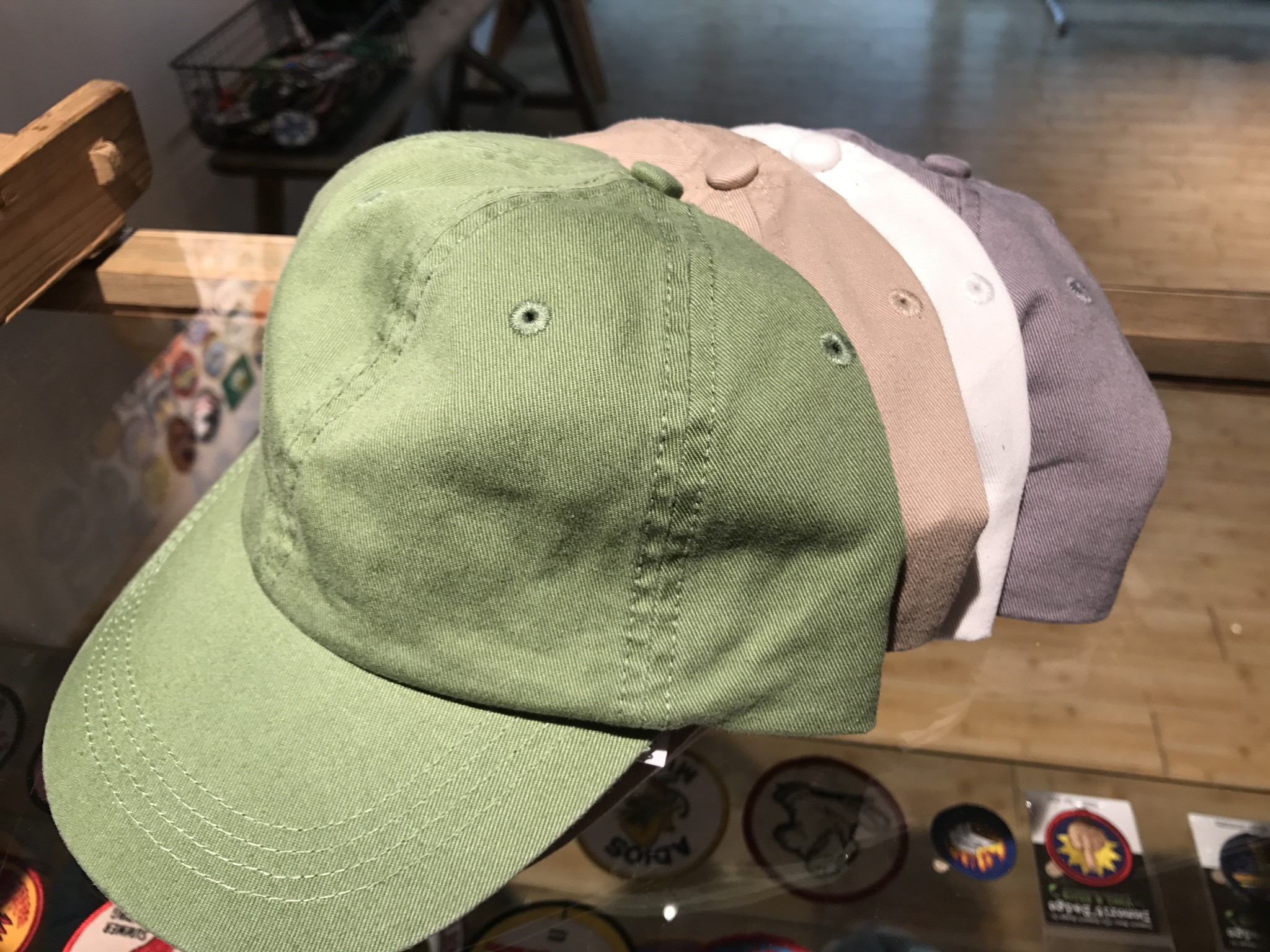 新入荷!!alternative cotton ball cap&twill chino cap
