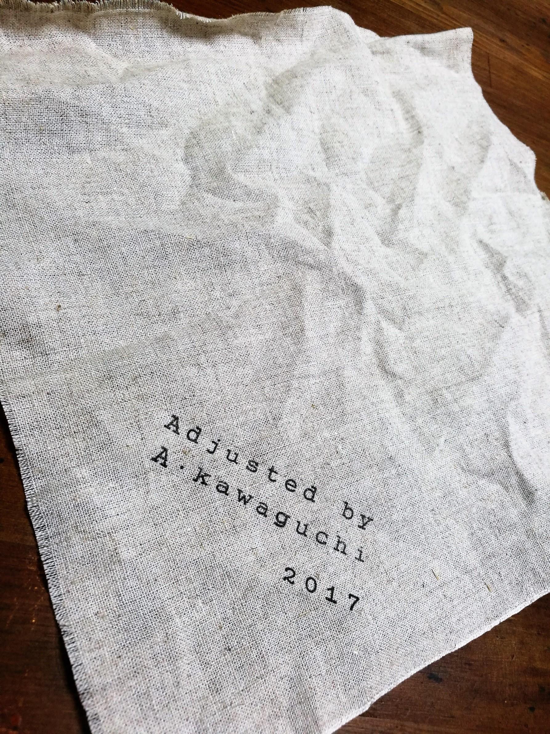 先着30枚限定!「川口明弘の調整万年筆 オリジナル万年筆包み布」をプレゼント!!