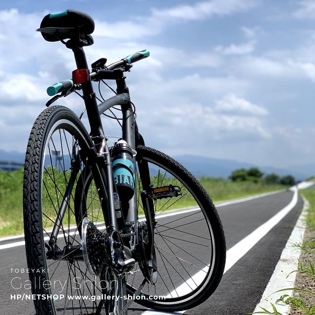 サイクリングへ