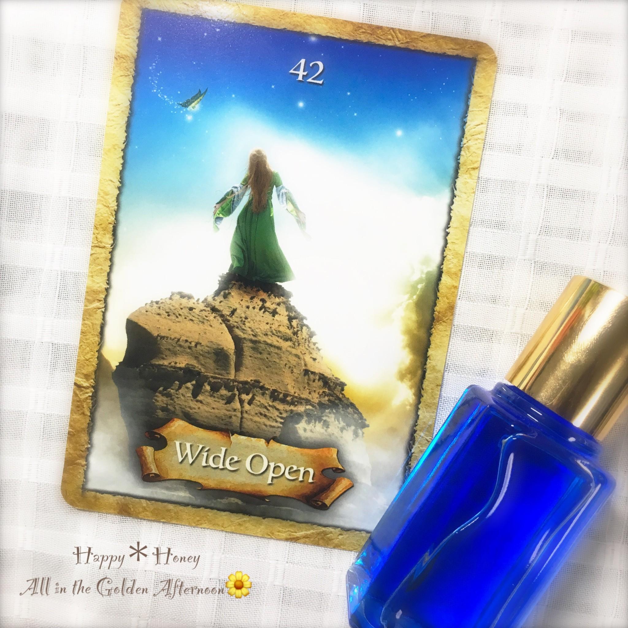 【6月中】メモリーオイル、カラーセラピーご依頼の方にオラクルカードリーディングプレゼント!