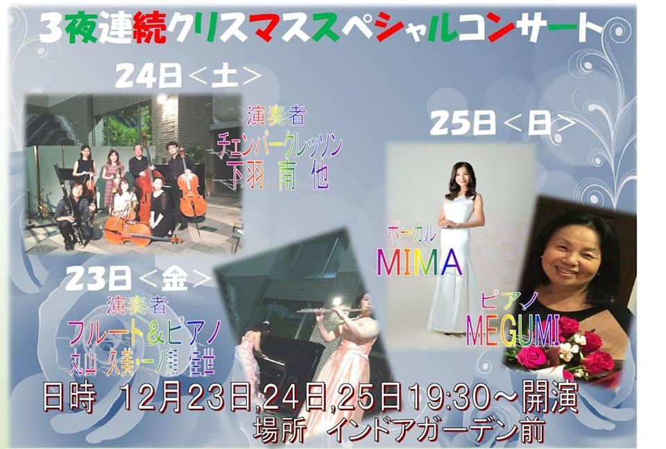 12/25(日) グリーンヒル八ヶ岳ロビーコンサート