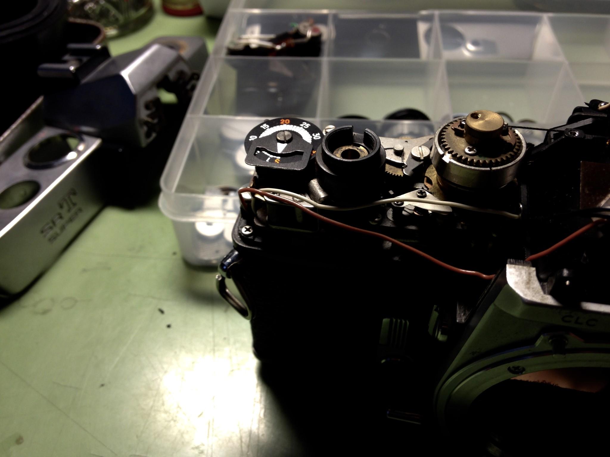 Minolta SRT superの整備