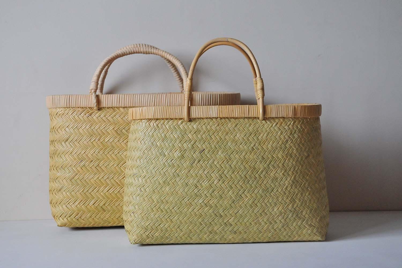 すず竹細工作家・橋本晶子さんの工房にお邪魔しました。