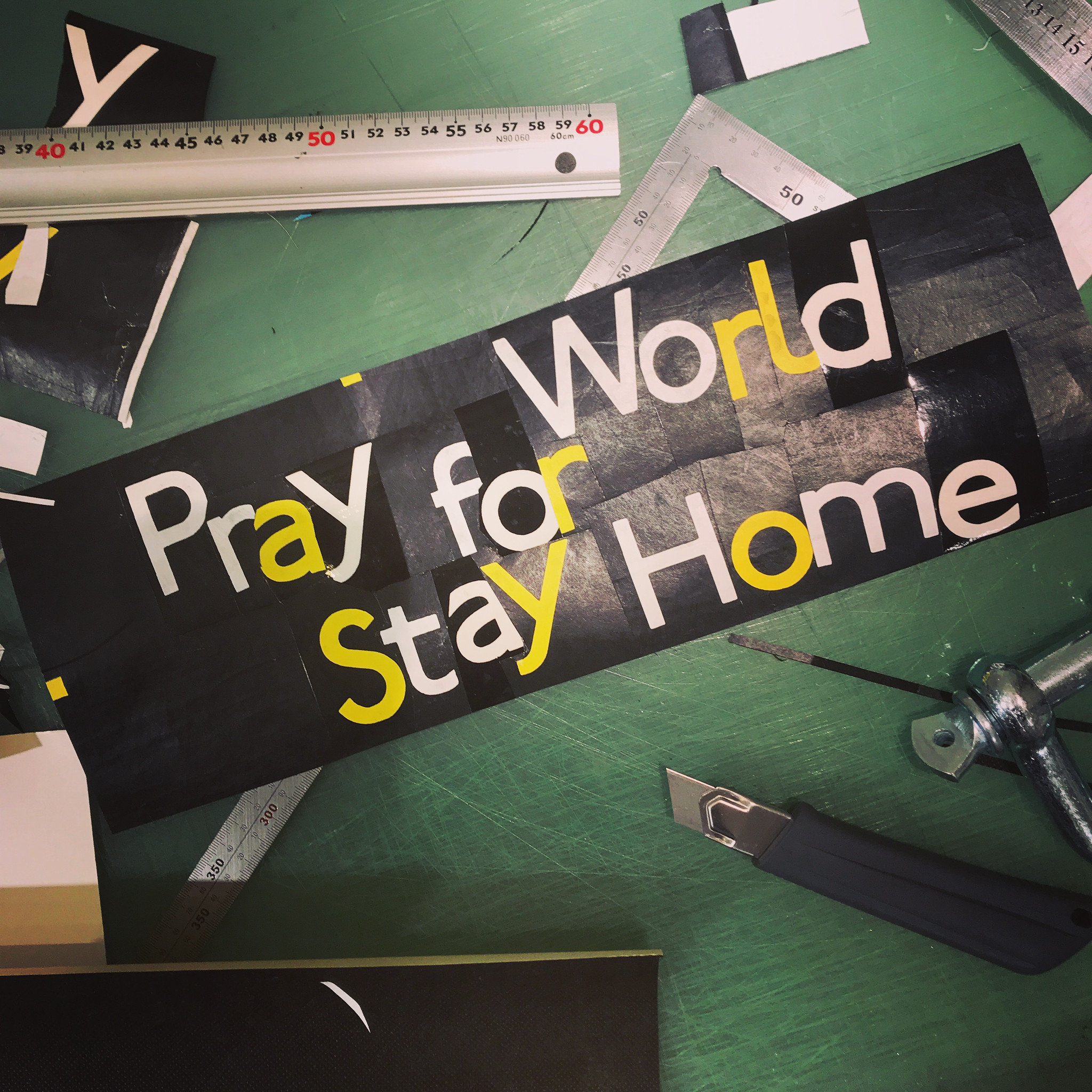 Pray for World Stay Home