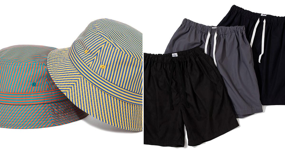 Team Stripe Bucket Hat & AOB Shorts
