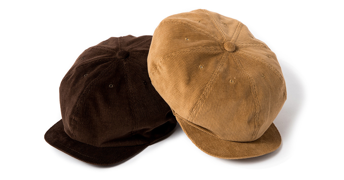 "Sports-Newsboy Cap ""Cords"""