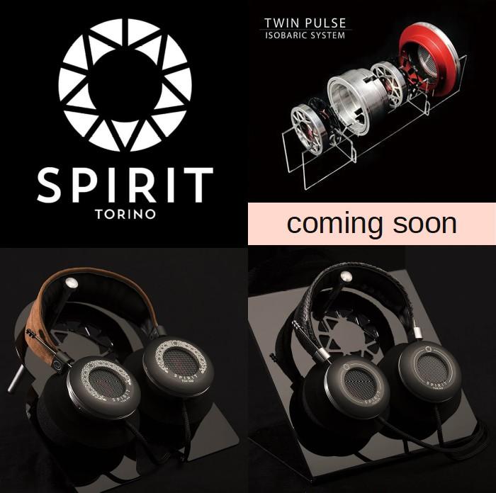 Spirit Torino イタリアのハイエンドヘッドフォンブランド まもなく登場です
