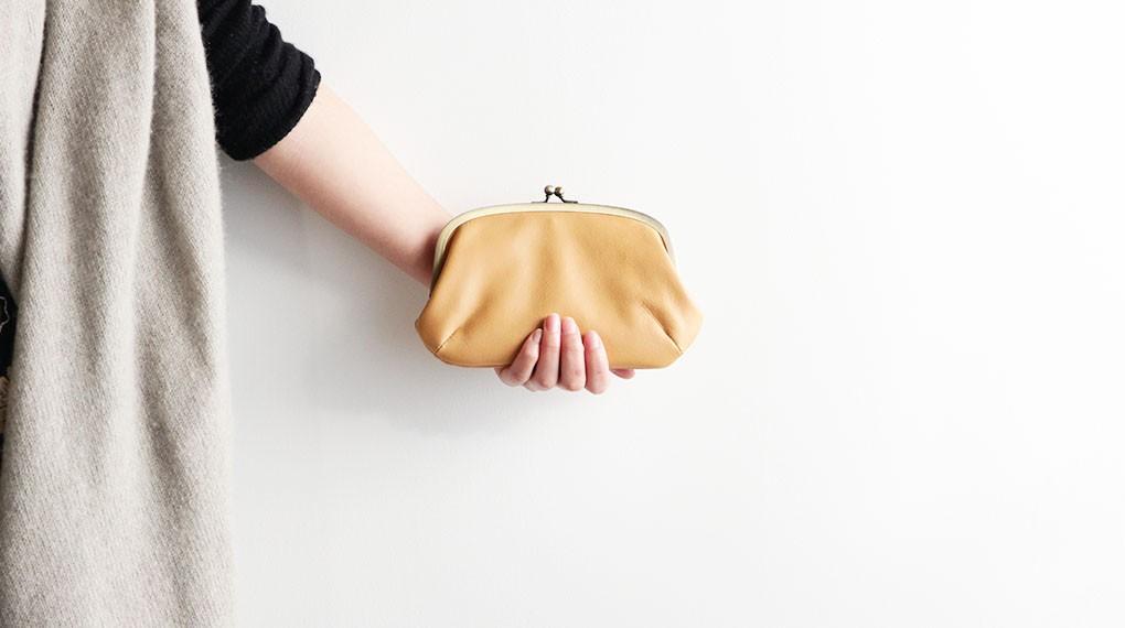 【親子金のがま口財布】のご紹介