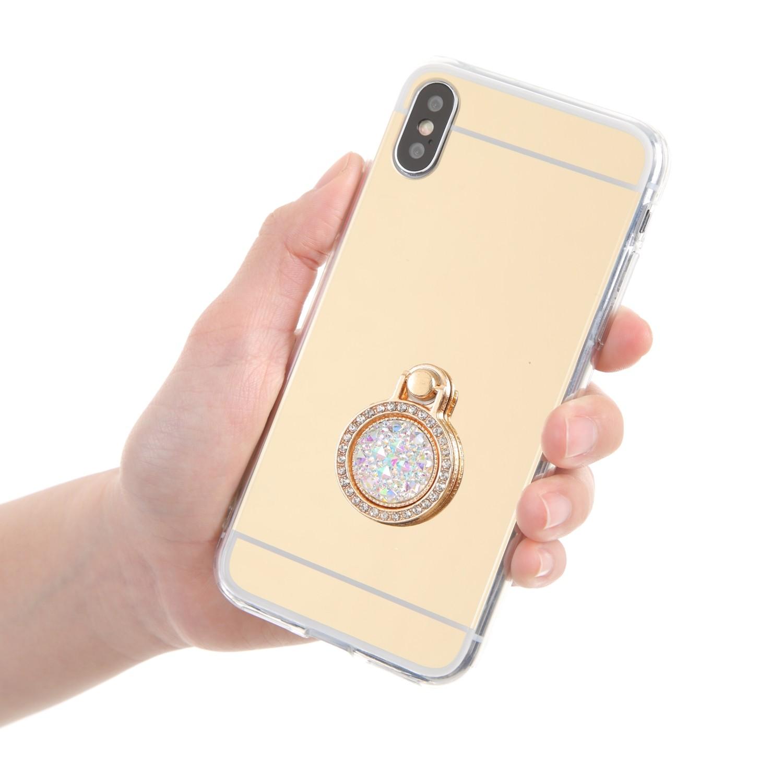 iPhoneケースがアクセサリーに♡キラキラ好きな方におススメです。