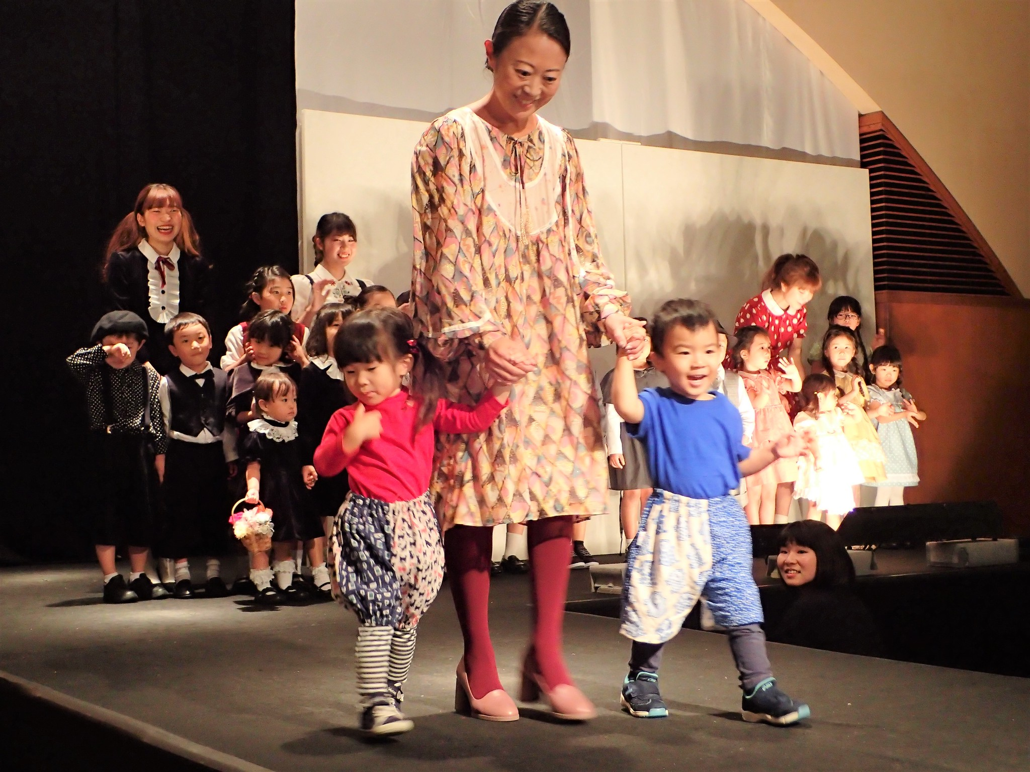 Kids FASHION SHOW デビュー!