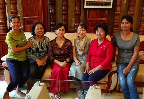3月のカンボジア