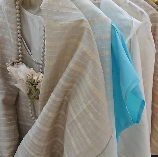 APSARA  ~水洗い出来る手織りシルクの手作り衣~ 7月展のご案内と6月展のご報告
