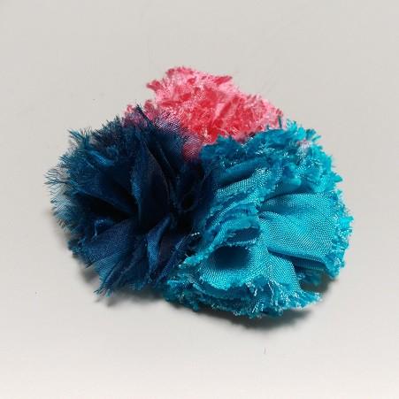 手織りシルクでオリジナルコサージュを作りませんか?