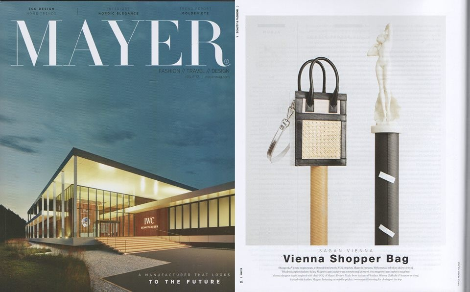 MAYER Magazine:#SAGAN VIENNA Shopper bag nano.