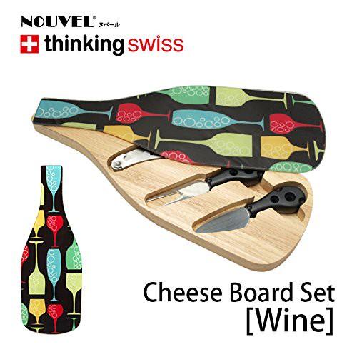 NOUVEL(ヌベール)ワインオープナー付 チーズカッティングボード♪
